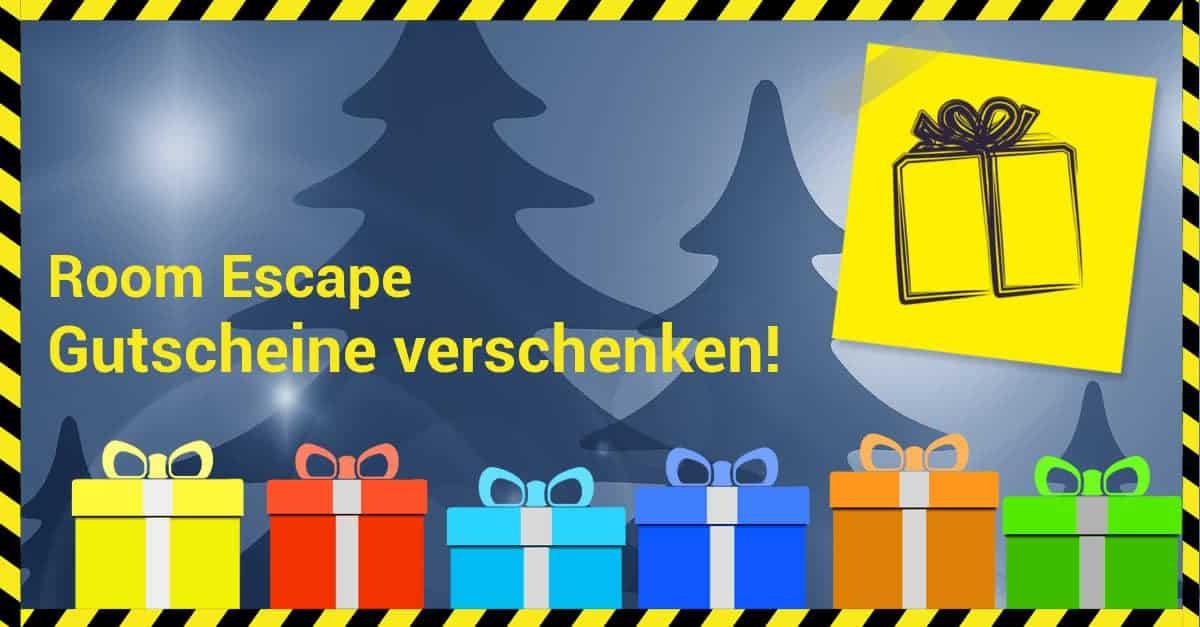 Escape Game Gutschein verschenken | Escape Mission